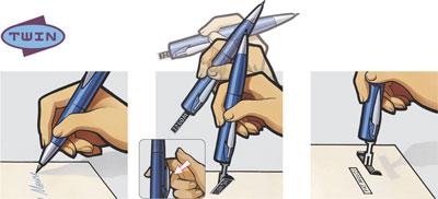 Így működik a TWIN bélyegzős toll - és itt rendelhető