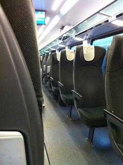 A Railjet kényelme