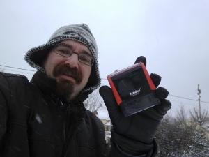 Niért utazna a bélyegzőért ebben a hóesésben, amikor a Bélyegző Expressz 3 villamosjegy áráért házhoz viszi Önnek?